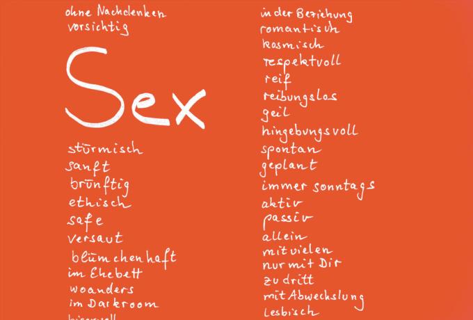 Über Sex reden. Partnerschaft, Paarbeziehung, Beziehung. Partnerschaftliche Kommunikation über Sex und sexuelle Kommunikation.