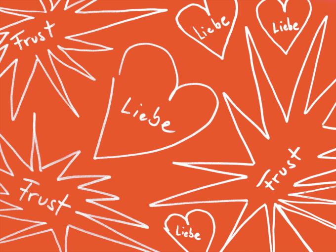 Toxische Beziehung und negative Muster in einer Partnerschaft. Liebe und Frust in Beziehung.